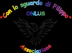 logo con lo sguardo di Filippo Onlus